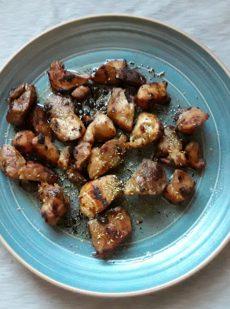 tigania - fried pork